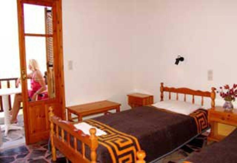Δίκλινο υπνοδωμάτιο