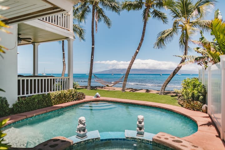 Oceanfront Paradise Private Pool Rental
