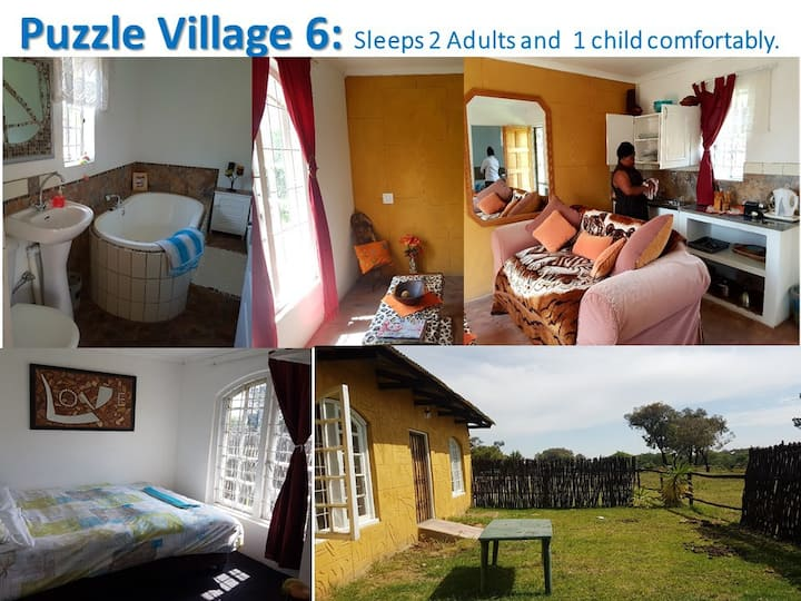 Puzzle Village Self Cater Unit 6 and Spa Options