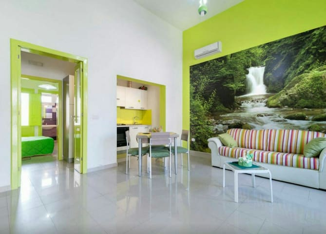 Green House Apartment with terrace - Merine - Apartamento