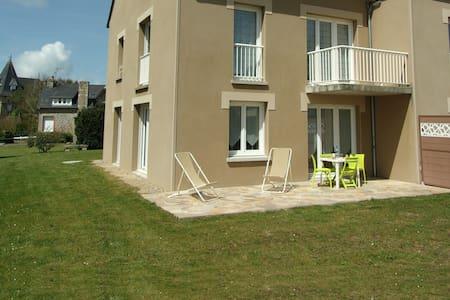 Coeur de village : T2, 2/4pers, 200m plage, jardin - Lancieux - Appartamento