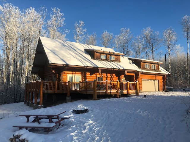 Cozy all season log home
