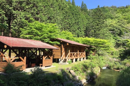 Nature Resort in Shimanto, Private Cottage for 4