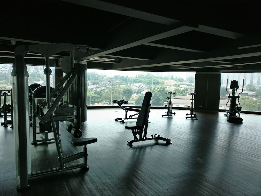 Complete Gym Facilities