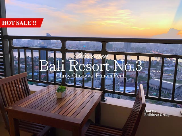 30C6_BigApartment/1BR/Grand View/Nice Gym and Pool