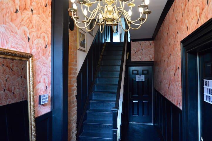 Foyer of house