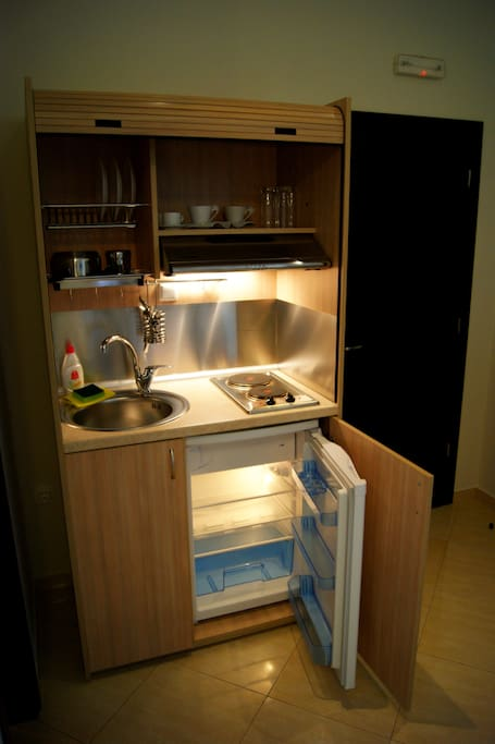 Private kitchen!