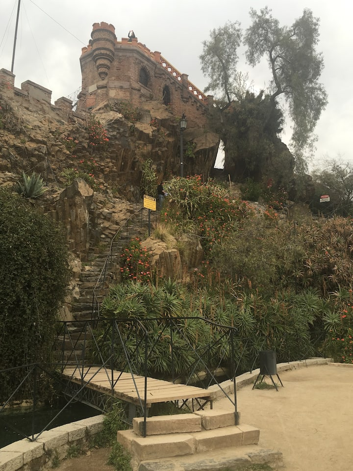 El mirador del cerro Santa Lucía