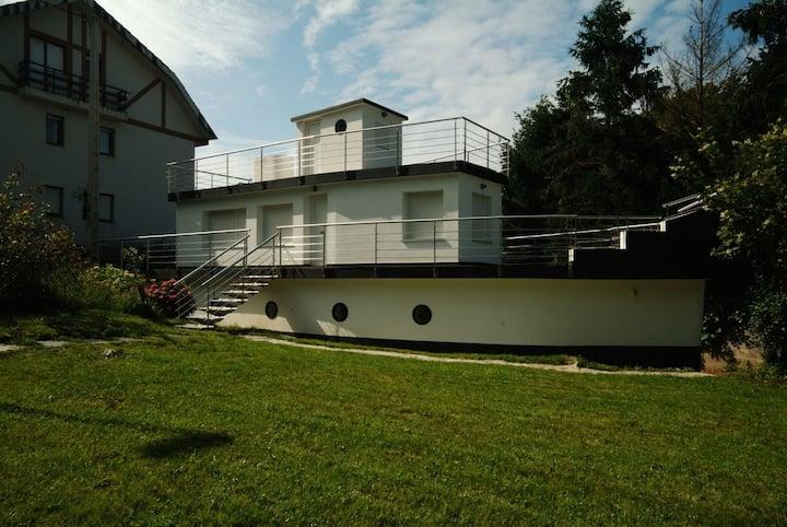Fantástica Casa Barco en Pechón