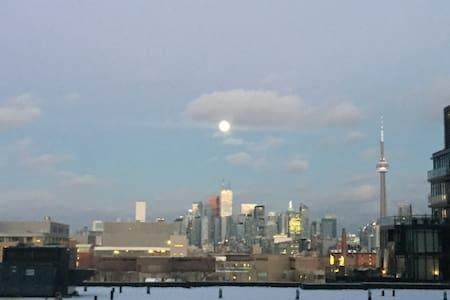 1BR West Queen West condo. Beautiful skyline view. - Toronto - Condominium