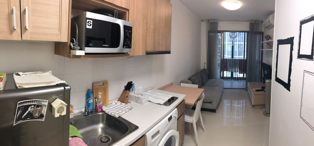 Space 1 bedroom close from bts Udomsuk by walk