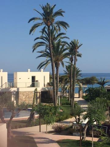 chalet+apartamento 14 personas al lado de playa - La Vila Joiosa/Villajoyosa - Haus