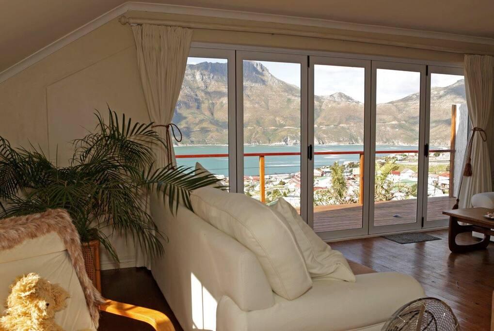 Lounge view facing SE