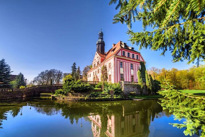 Nice stay in a castle near Wroclaw - Warmatowice Sienkiewiczowskie  - Castello