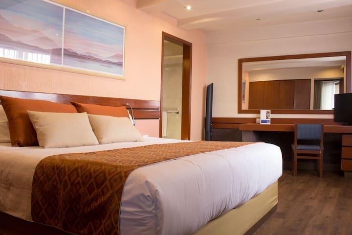 Habitación privada tipo hotel  - Dowtown CDMX