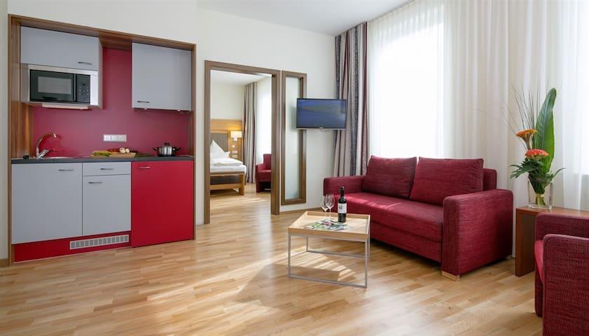 komfortables Apartement mit Kitchenette