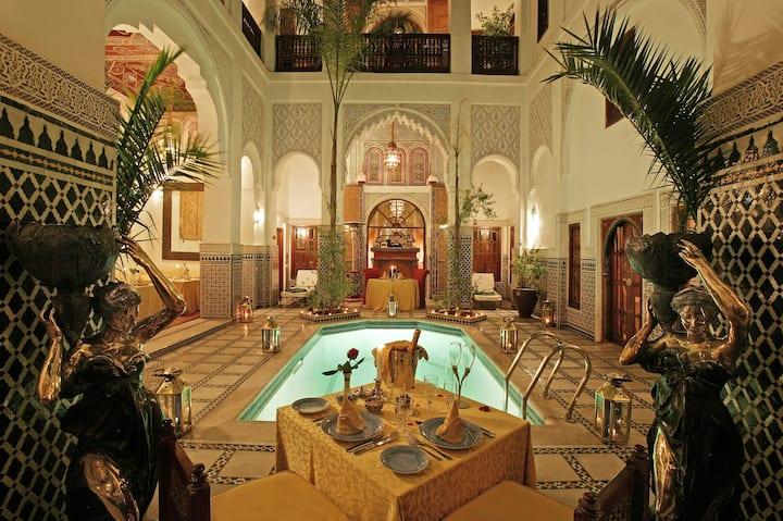 Riad et Spa Esprit du Maroc, chambre supérieure..