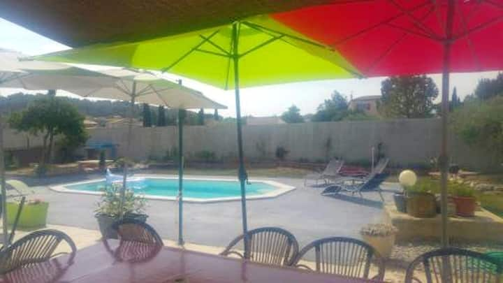 Apartment with 2 bedrooms in Velaux, with shared pool, furnished garden and WiFi