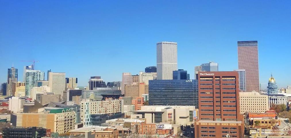 Uplifting views, elevated living. Denver High-Rise