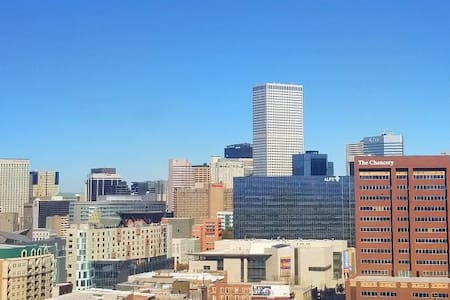 Uplifting views, elevated living. Denver High-Rise