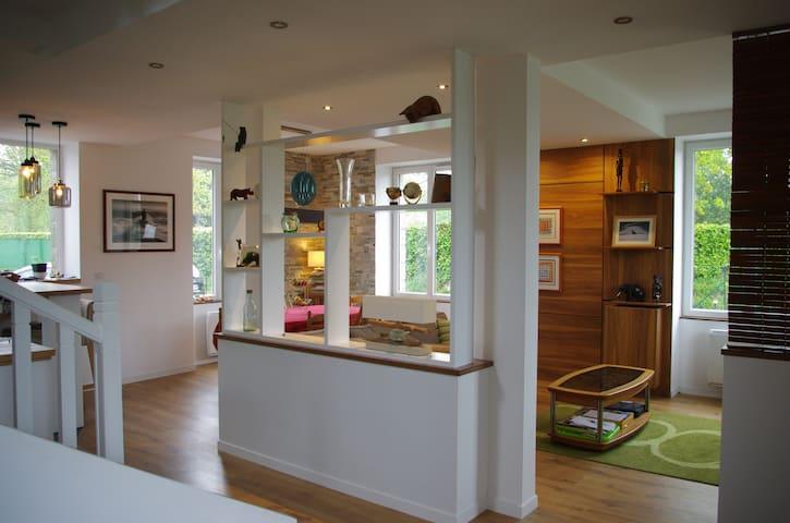 Maison familiale avec jardin à 3 minutes de Dinard - Pleurtuit