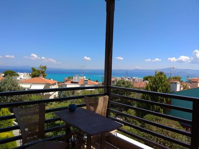 View of the Sea/Με θέα τη θάλασσα, Σιθωνία, Α'θω