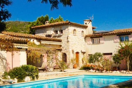 Lovely provencal Stone House - Vence