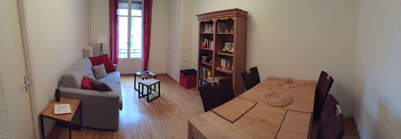 Cozy, luminous and quiet flat in Plainpalais - Женева - Квартира