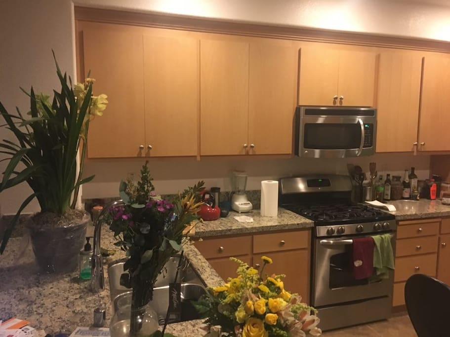 can use kitchen  from saturday night-checkout