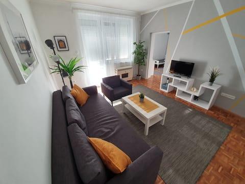 Kertész Apartman - Igényes lakás, kilátással!