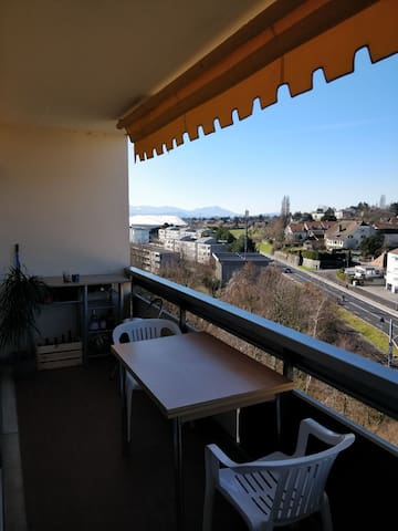 Large Studio with great view