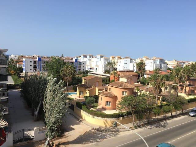 Apto. Denia. Las Marinas.5 min Playa (AIRE ACOND.) - Denia - Apartamento