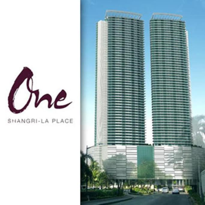 The One Shangrila Place twin towers.