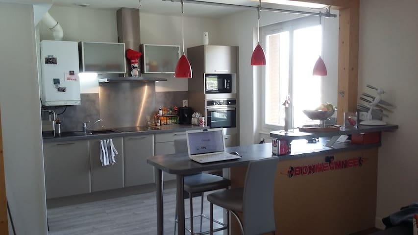 Chambre double entre ville et volcans - Clermont-Ferrand - Wohnung