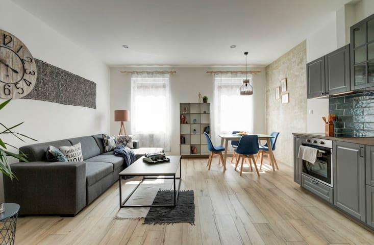 Skandinav design apartment close to Heroes' Square