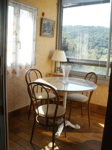 Petit appartement  dans résidence tranquille - Le Boulou
