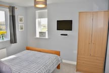 Double Bedroom with Sky TV and DVD Player