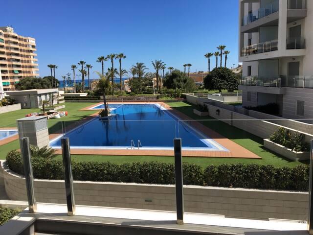 Апартаменты с 2 спальными комнатами на берегу моря - La Mata, Residencial Aqua Nature - Apartment