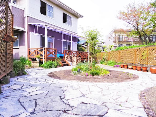 SAKURA Cottage with Garden / 4 bedrooms free WIFI - Dazaifu-shi - Dom