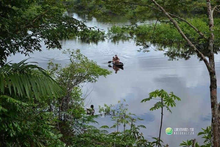 Nina Rumi: una experiencia auténtica - Iquitos - Stråhytte