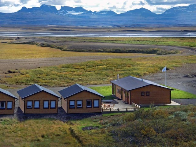 Hálsakot Lodge, near Egilsstaðir. - East - Blockhütte