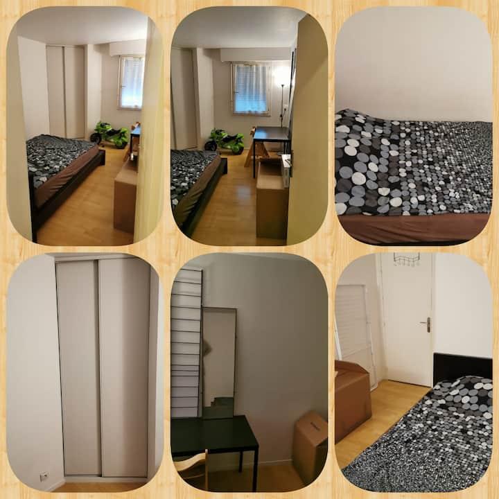 Chambre très propre et spacieuse