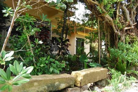 海に近く、木々に囲まれた畳の一軒家。ATARUYAMA House - Nanjō-shi