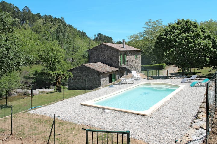 Holiday home in St Genest de Beauzon - Saint Genest-de-Beauzon - Dom