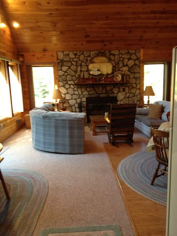 Catskills Chalet on lake  Alimeda - South Kortright - Casa