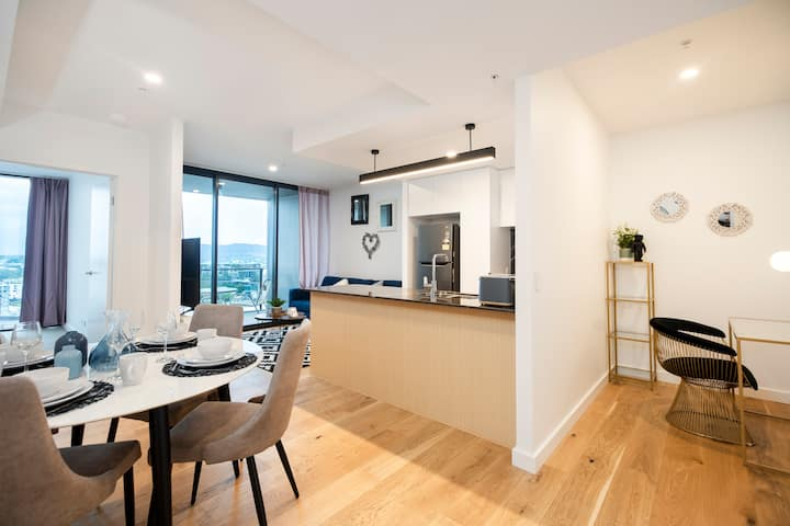 🌊Glamorous RiverView Spacious 🌊1BR|SouthBank|City