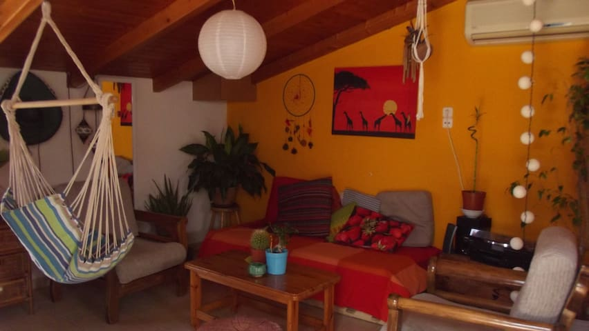 Loft apartment with balcony, sweet home alapatras!