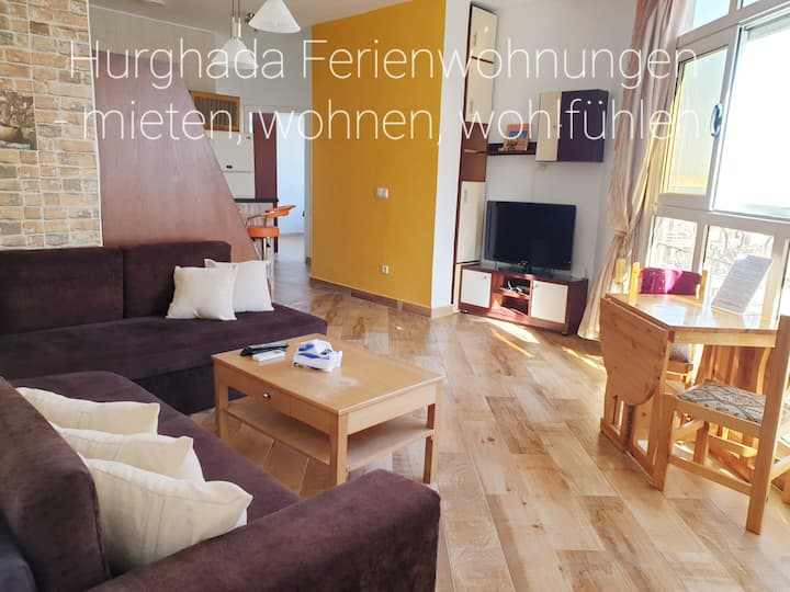 Wifi AC hot/cold Sea view 3 bed room German TV