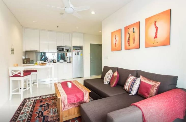 Charming flat in KL Golden Triangle