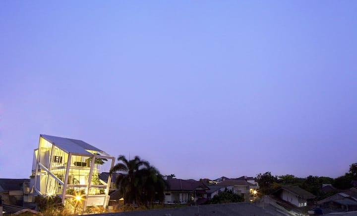 Rumah Miring  by CGartspace - Pondok Indah Jakarta